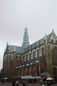 The old St. Bavo, Haarlem