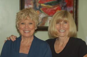 L.R.: Cindy and Brenda