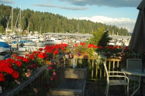 Marina Lounge deck