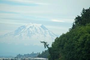 Mt.Rainier, Pt.Defiance on right