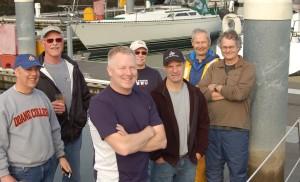 L.R. Kelley, Pete, Tom, Tom G. , Tim, Roger, Tom. missing Terry J and Ron R.