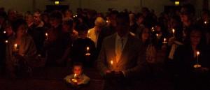 Easter Vigil at St. Nicholas Church, Gig Harbor.