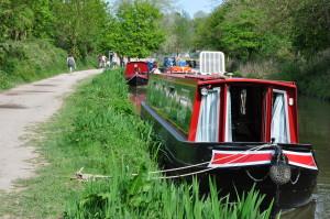 Narrow Boats near Bradford on Avon