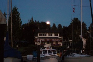 The oldest Gig Harbor home. The Ross house in Arabella's Landing Marina