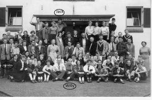 With the same Willy at a school outing of the Borsenburgplein school CUS classes 3 and 4 in 1953.....