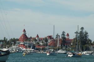 view from anchorage at the El Coronado