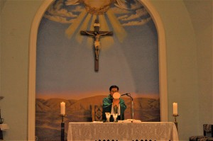 8 a.m. mass at St. Agnes