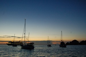 "sunrise from ""Fleetwood"""