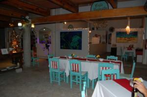 Juanita's Cafe in the Christmas Spirit