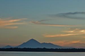 San Cristobal, active volcano, 5,725 ft.