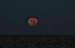 Moon set on January 12th