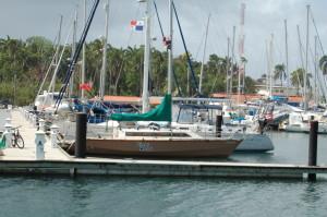 Shelter Bay Marina, Cristobal, Panama
