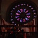 Jim Gallatin and his organ